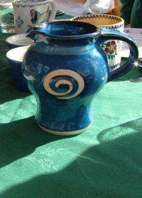 Dolphin Beach Pitcher
