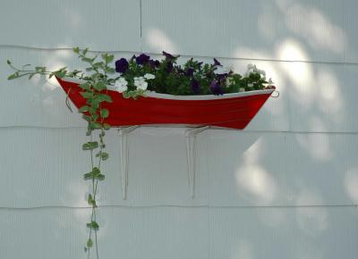 Rowboat Planter