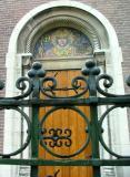 Church Door in Utrecht