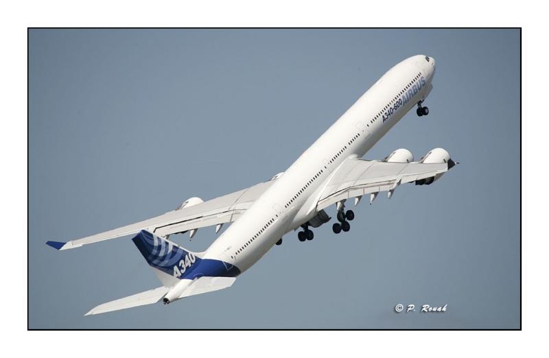 A340-600 - Bourget Air Show - Paris
