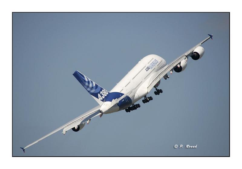 A380 - Bourget Air Show - Paris