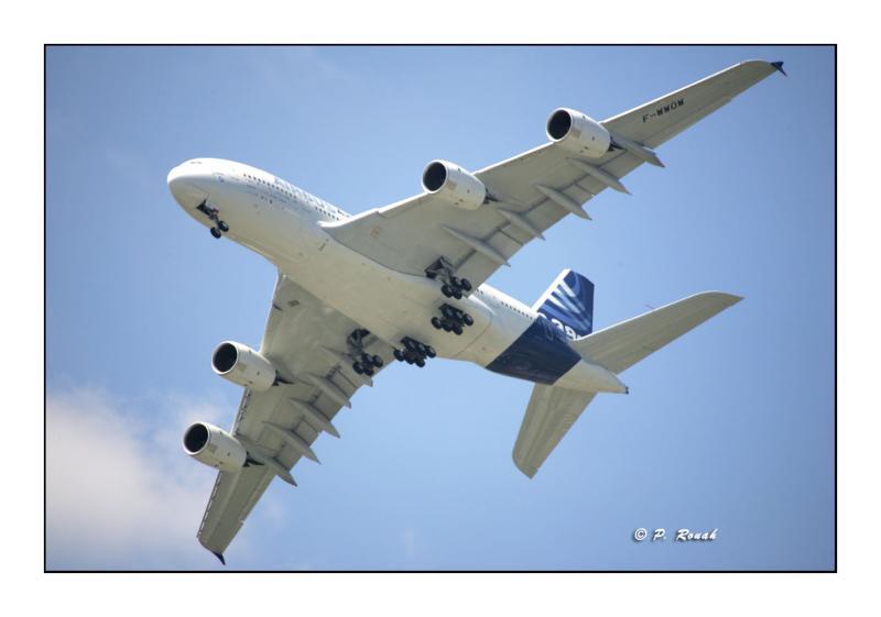 A380 (2) - Bourget Air Show - Paris