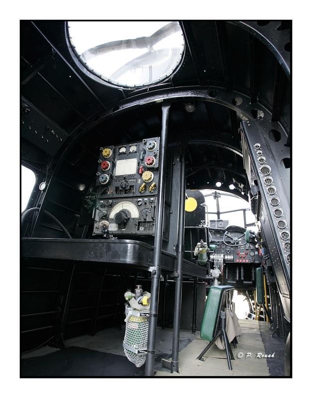 Cockpit WWII Lancaster