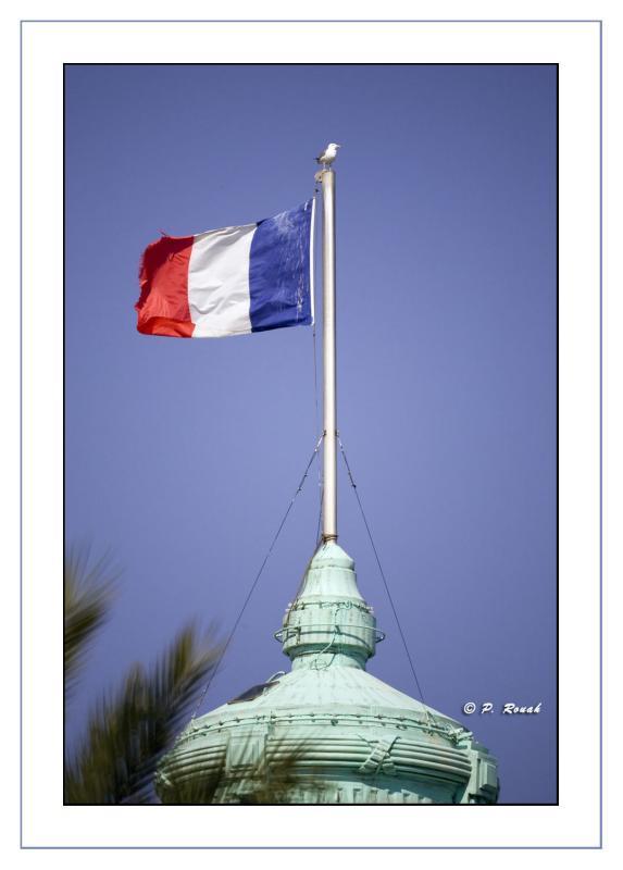 French flag on the Negresco