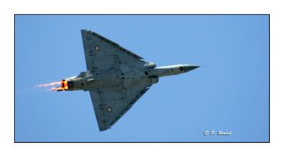 Mirage 2000 - Bourget Air Show - Paris