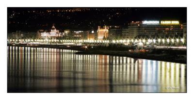 Baie de Nice by Night