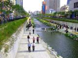 The Cheonggyecheon stream