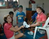 New Shoes for Cristo Viene Boys Home
