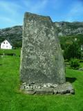 Megaliths-Stone with Alter -Westerly Directed- marked during WW2 with H7 - King Haakon the 7 and some other old inscriptions