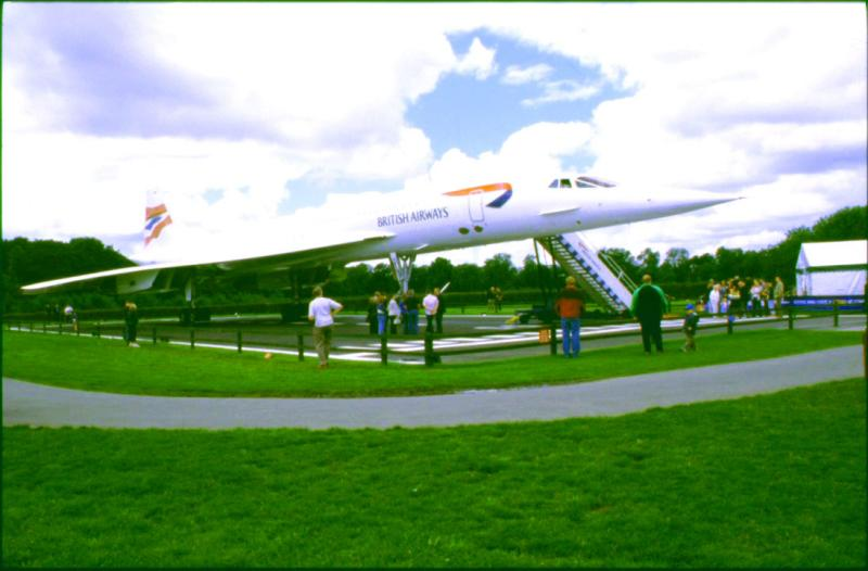 Concord at Ringway Airport  in Manchester