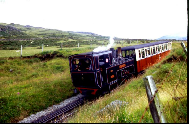 Little Train going up to Snowden