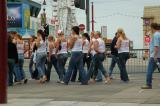 Girls on a Hen Night in Blackpool