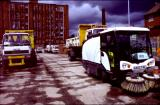 Roadsweepers Parked up at the Yard