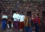 tourists from Lima visiting Pisac