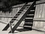 Escalier dans le sable