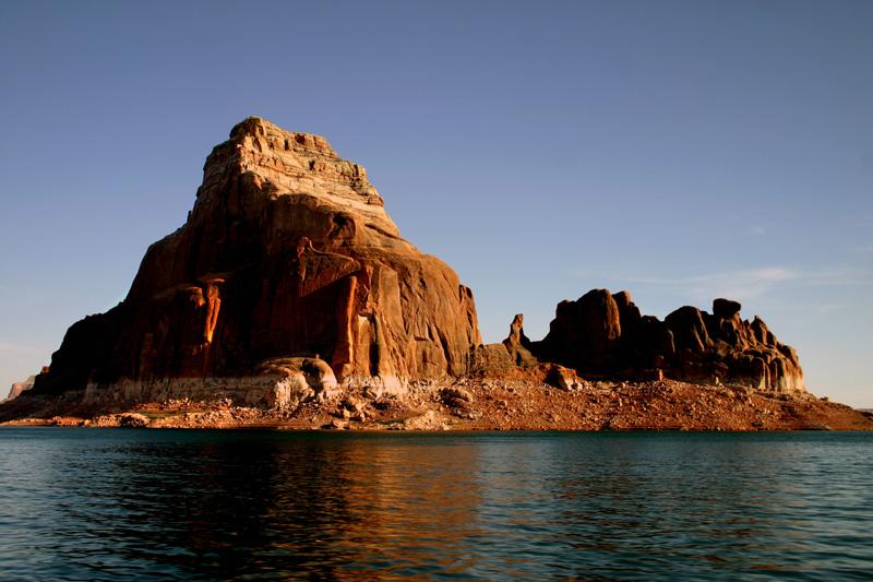 Lake Powell Gunsite Rock.jpg
