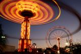 Orange County Fair, Rides at Night