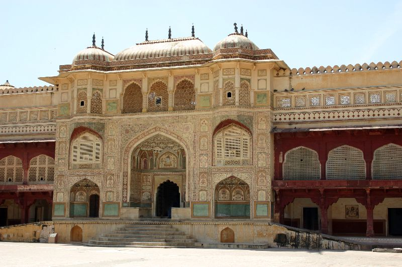 Amer fort, The palace gates
