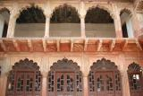 The terrace, Agra fort, Agra