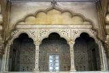 The terrace for the King, Agra fort, Agra