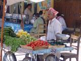 Fruit trolly in Kotli