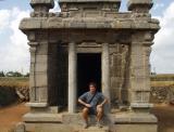 Sweating in Mammalapuram