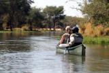 Lower Zambezi - Canoe safari... Watch out for the hippos!