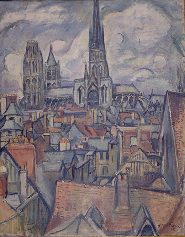 Friesz Roofs and Cathedral Rouen.jpg