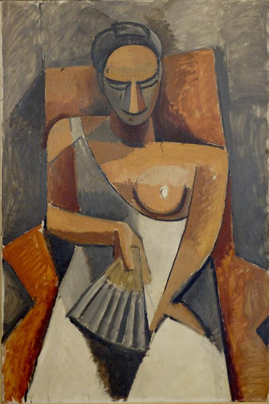 Picasso Woman with Fan 1907-08.jpg