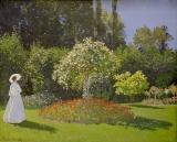 Woman in the Garden. Sainte-Adresse.jpg
