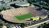 Michigan Stadium-capacity 107,000; Crisler Arena