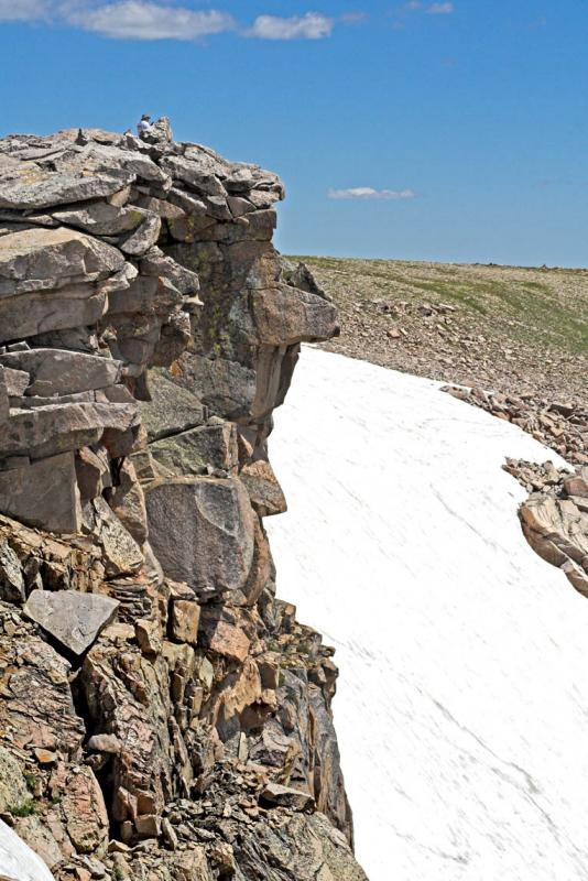 zzz IMG_0894 Man on rocks by Tyndall Glacier.jpg