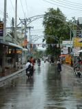 Kanchanaburi in the rain