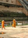 Walking monks