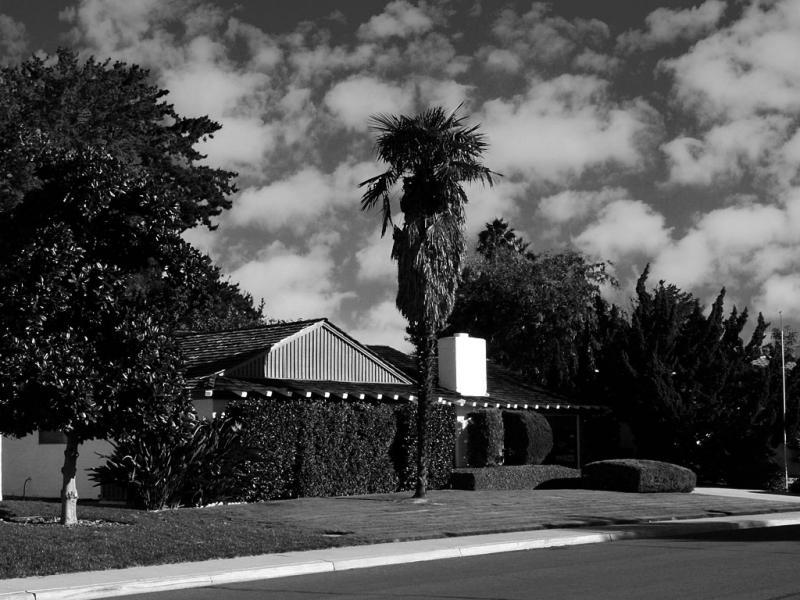 Verano Drive in Black and White