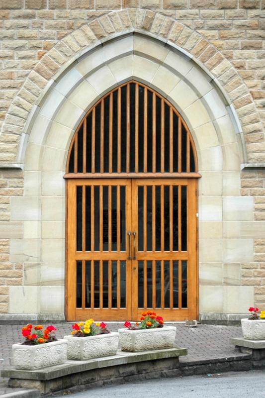 27 July - New Church Door