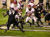 Utah #3 Completes Pass out of End Zone