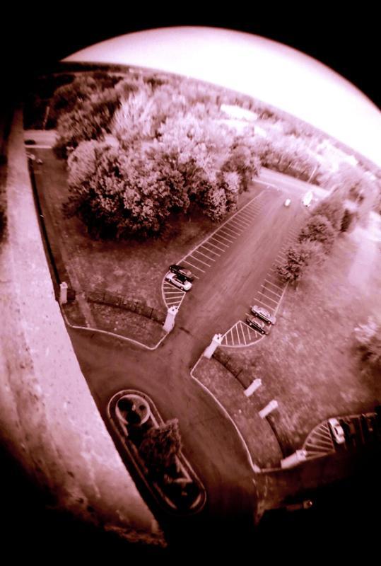 front parking lot wide color