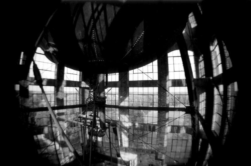 inside tower water tank