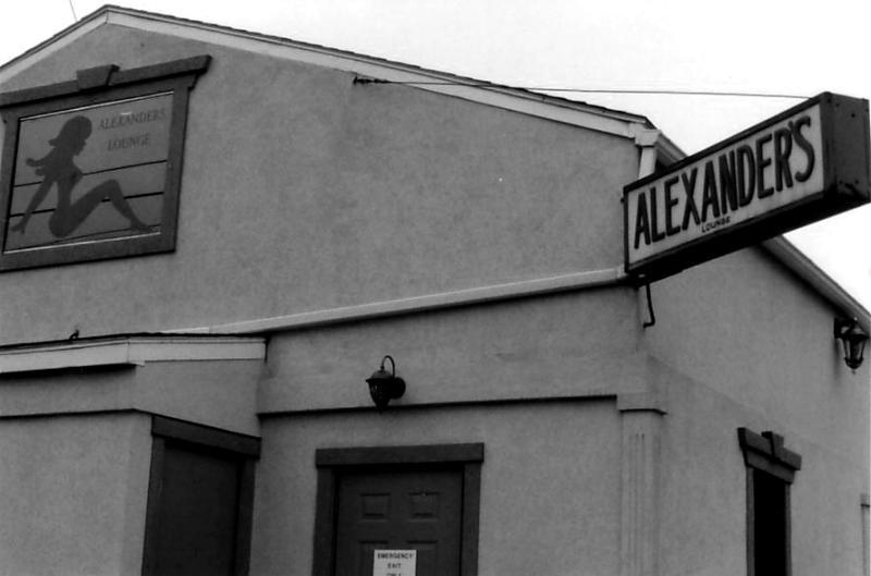 alexanders strip bar