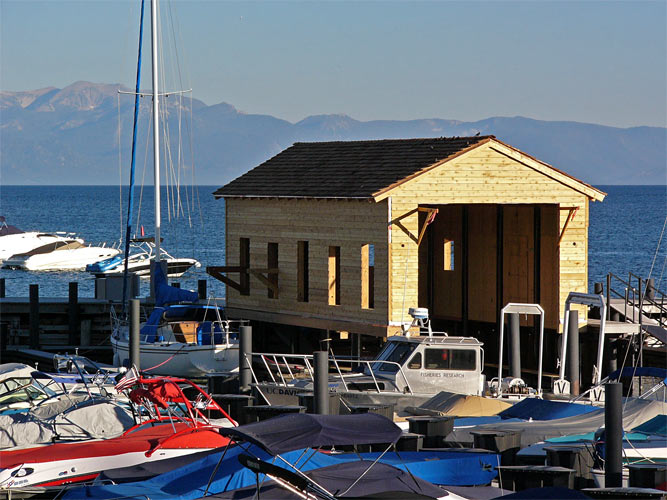Boathouse at Tahoe