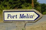 Sign Port Melin, Île de Groix