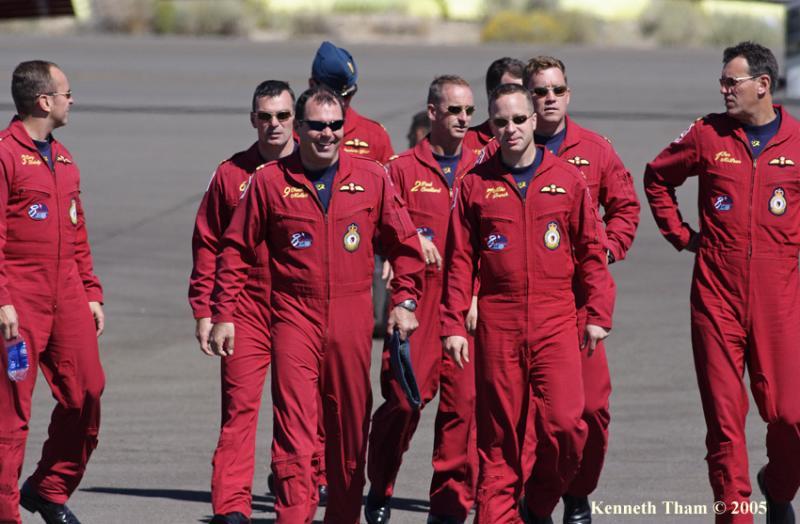 Snowbird pilots