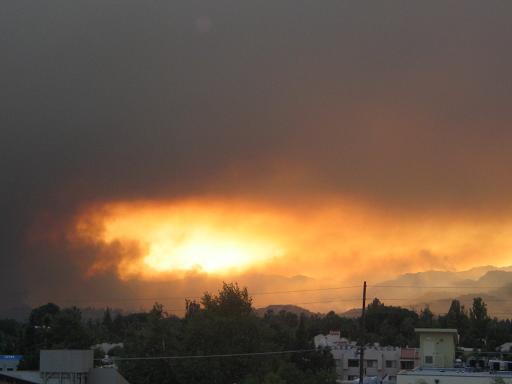 Topanga Fire