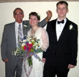 Ted (Emily's Papaw), Emily, and Chuck