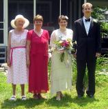 Louise, Jo, Emily, Chuck