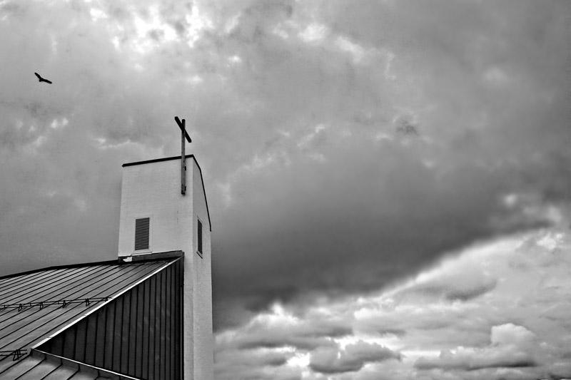 A church of clouds *