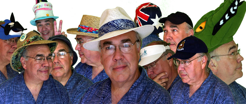 Haberdasher of Hats<BR>Siesta of Sombreros<BR>Charade of Chapeaux<BR>Fantasy of Fedoras<BR>Plethora of Pops
