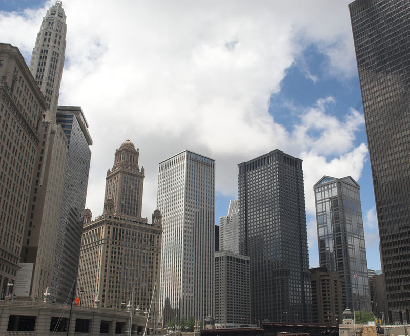 An Upthrust of Buildings*