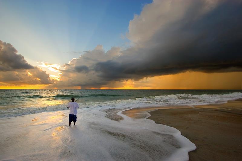 1st: Sun and Rain and Fishing